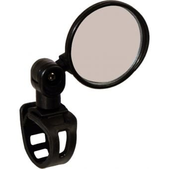 Azur Hawk II Bar Mount Convex Bicycle Mirror Black