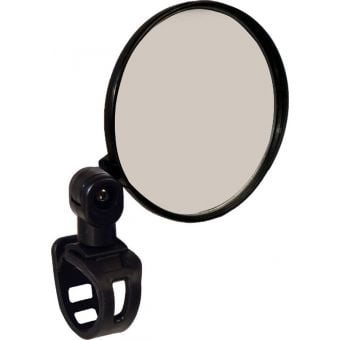 Azur Hawk III Bar Mount Convex Bicycle Mirror Black