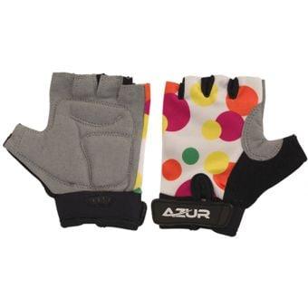 Azur K5 Kids Gloves White/Spotted