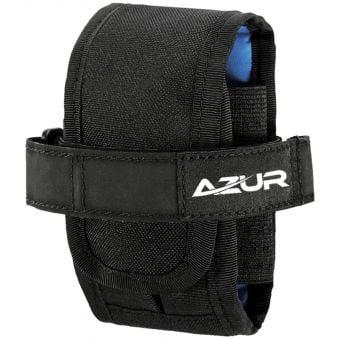 Azur Keep Riding Frame Mount Tube Bag Black