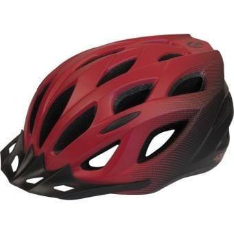 Azur L61 Satin Red/Black Fade Helmet