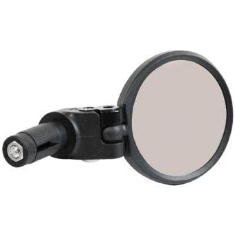 Azur Orbit Bar End Mount Anti-Glare Bicycle Mirror Black