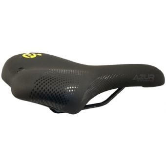 Azur Pro Range Theta Memory Foam Saddle Black