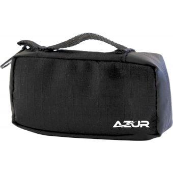Azur Protek-tit Zipped Pouch Bag Black Small