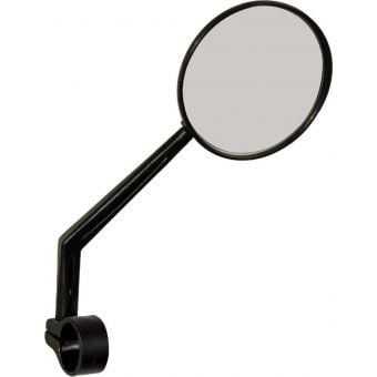 Azur Raven Bar Mount Convex Bicycle Mirror Black
