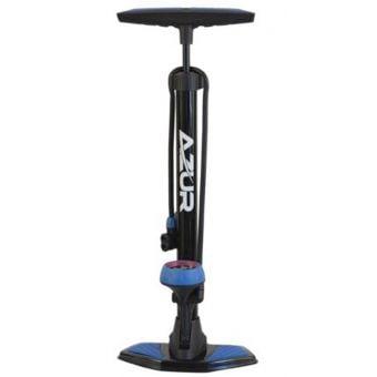 Azur SP45 Floor Pump Black/Blue