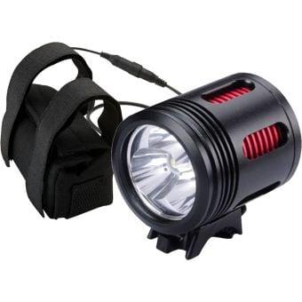 Azur Titan 3000 Lumens Rechargeable Front LED Headlight Black