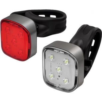 AZUR Strobe 40/10 Lumens Front and Rear Light Set