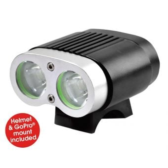 Azur Twin Deluxe 2200 lm Rechargeable Front Light