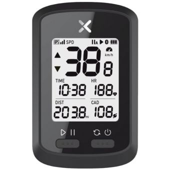 Azur XOSS Commuter GPS w/10 Functions Black