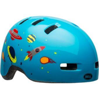 Bell Lil Ripper Toddler Helmet Light Blue Space Front