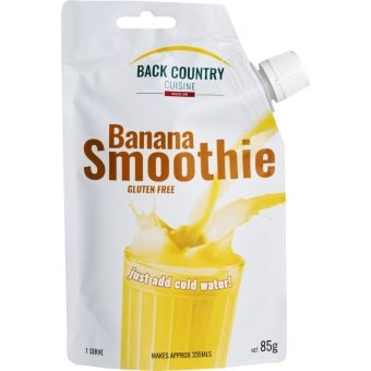 Back Country Cuisine Banana Small Smoothie