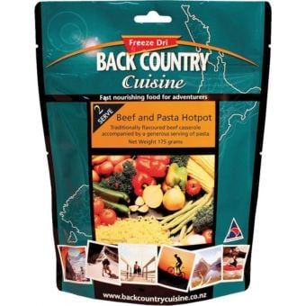 Back Country Cuisine Beef and Pasta Hotpot Regular