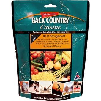 Back Country Cuisine Beef Stroganoff Regular (Gluten Free)