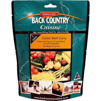 Back Country Cuisine Classic Beef Curry Small (Gluten Free)