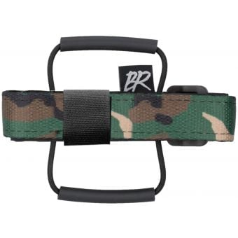 Backcountry Research Race Strap MTB Saddle Mount Green Camo