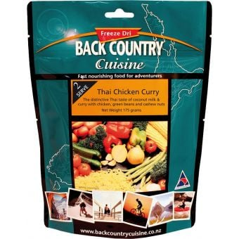 Back Country Cuisine Thai Chicken Curry Regular