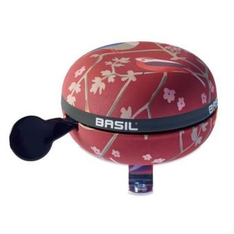 Basil Wanderlust Bicycle Bell Red