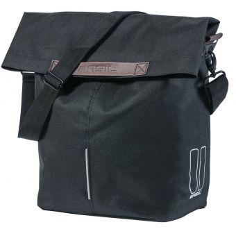 Basil City Shopper 14-16L Bike Bag Black