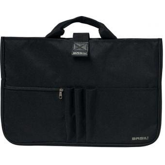 Basil Organiser Laptop Bag Black