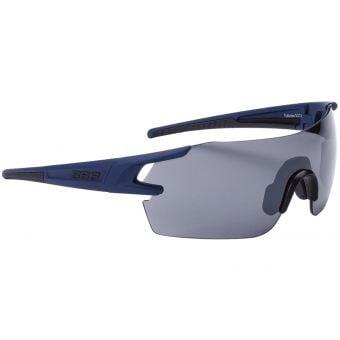 BBB BSG-53 FullView Sport Glasses Matt Blue Frame Smoked Lens