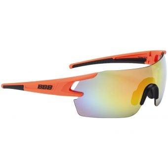 BBB BSG-53 FullView Sport Glasses Orange Frame Multi-Colour Lens
