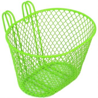BC Wire Front Basket Green Small