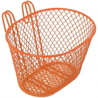 BC Wire Front Basket Orange Small