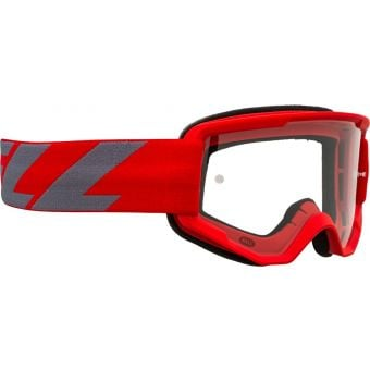 Bell Descender Outbreak MTB Goggles Red/Grey with Clear Lens