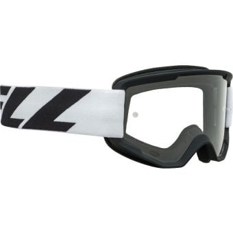 Bell Descender Outbreak MTB Goggles White/Black with Clear Lens