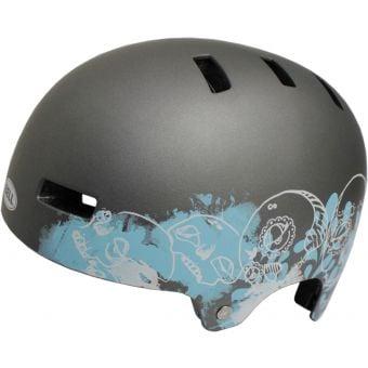 Bell Division Helmet Matt Gunmetal Skulls