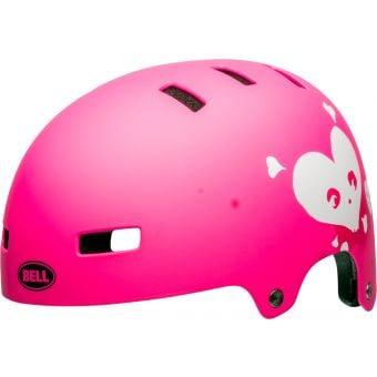 Bell Division Helmet Pink Skully Medium
