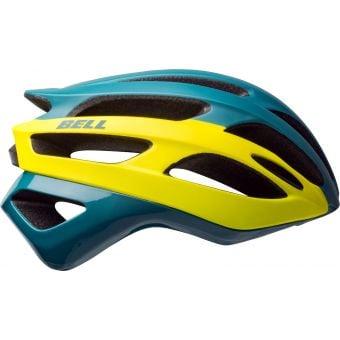 Bell Falcon MIPS Road Helmet Matte-Gloss/Blue Hi-Viz