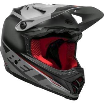 Bell Full-9 Fusion Full Face MTB MIPS Helmet Matte Black/Grey Crimson