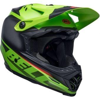 Bell Full-9 Fusion Full Face MTB MIPS Helmet Matte Green/Black Crimson