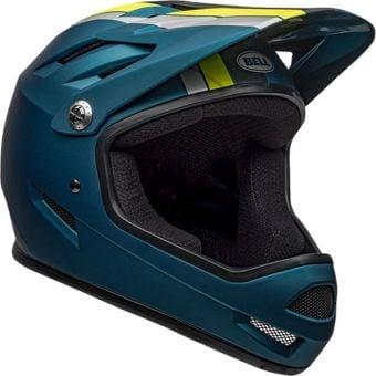 Bell Sanction Full Face Helmet Agility Matte Blue/Hi-Viz