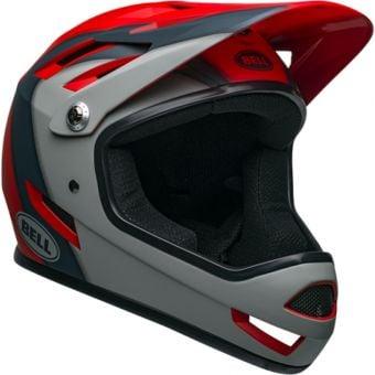 Bell Sanction Helmet Presences Matte Crimson/Slate/Grey