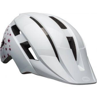 Bell Sidetrack II Child Helmet Gloss White/Stars Unisize