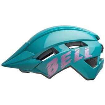 Bell Sidetrack II Youth Helmet Light Blue/Pink Unisize