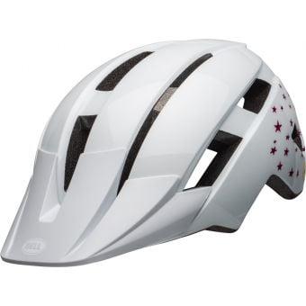 Bell Sidetrack II MIPS Youth Helmet Gloss White/Stars Unisize