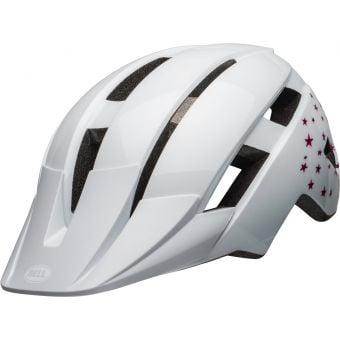 Bell Sidetrack II Youth Helmet Gloss White/Stars Unisize