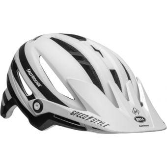 Bell Sixer MIPS MTB Helmet Fasthouse Stripes Matte White/Black