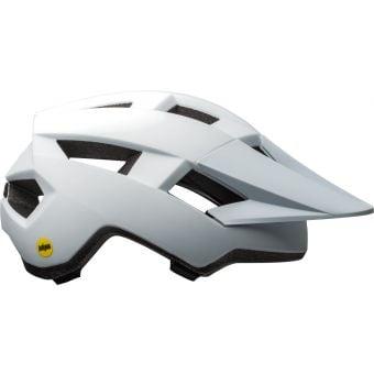 Bell Spark Womens MIPS Helmet Matte/Gloss White/Purple Unisize