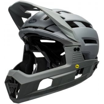Bell Super Air R MIPS Full Face MTB Helmet Matte Grey
