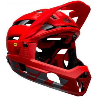 Bell Super Air R MIPS Full Face MTB Helmet Matte Red/Grey
