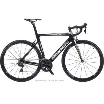 Bianchi ARIA Centaur Aero Road Bike Black/Silver