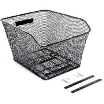 BikeCorp Rear Wire Basket Mesh Black
