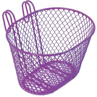 BC Wire Front Basket Lavender Small
