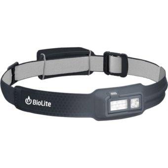 BioLite HeadLamp 330lm Rechargeable Headlamp Midnight Grey