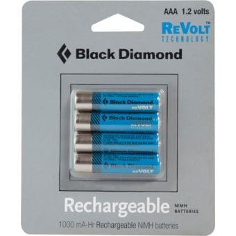Black Diamond AAA Rechargeable Batteries (4 Pack)